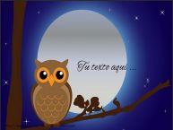 Personalizar tarjetas con texto de buenas noches Buenas Noches
