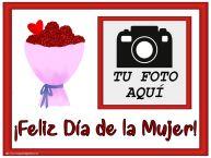 Personalizar tarjetas para el día de la mujer   ¡Feliz Día de la Mujer! - Crea tarjetaa personalizadas con foto perfil de facebook