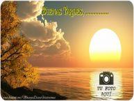 Personalizar tarjetas de buenas tardes | Buenas Tardes, ...