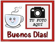 Personalizar tarjetas de buenos días   Buenos Dias! - Crea tarjetaa personalizadas con foto perfil de facebook