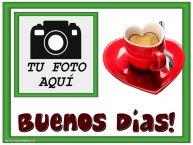 Personalizar tarjetas de buenos días   Buenos Días! - Crea tarjetaa personalizadas con foto perfil de facebook