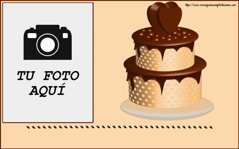 Personalizar tarjetas de cumpleaños   ... - Marco de foto