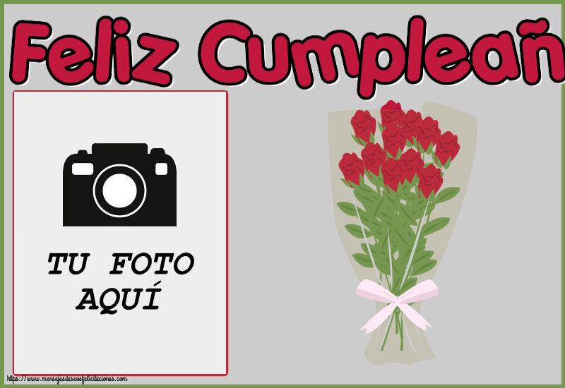 Personalizar tarjetas de cumpleaños   Feliz Cumpleaños! - Marco de foto