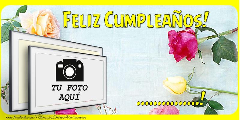 Personalizar tarjetas de cumpleaños   Feliz Cumpleaños, ...!