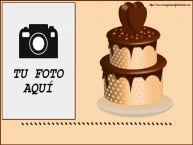 Personalizar tarjetas de cumpleaños | ... - Marco de foto