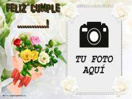 Personalizar tarjetas de cumpleaños | Feliz Cumple ...! - Marco de foto