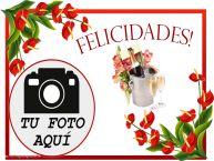 Personalizar tarjetas de cumpleaños | Felicidades! - Marco de foto