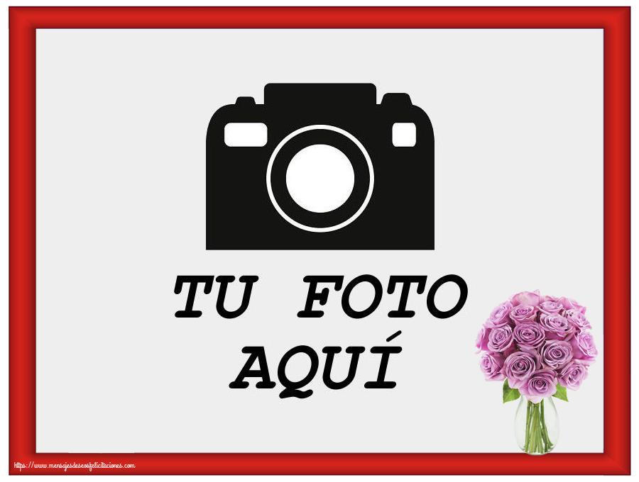 Personalizar tarjetas con fotos   Marco de foto