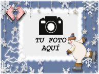 Personalizar tarjetas con fotos | Marcos de fotos invierno