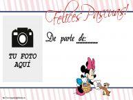 Personalizar tarjetas de Pascua | Felices Pascuas! De parte de: ... - Crea tarjetaa personalizadas con foto perfil de facebook
