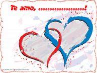 Personalizar tarjetas de amor | Te amo, ...!