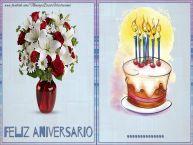 Personalizar tarjetas de aniversario | Feliz aniversario ...