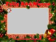 Personalizar tarjetas de Año Nuevo | Feliz Año Nuevo ...! - Marco de foto de Año Nuevo