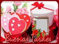Personalizar tarjetas de buenas tardes   Buonasera!