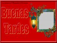 Personalizar tarjetas de buenas tardes   Buenas Tardes