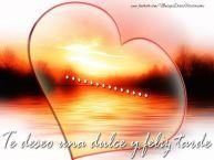 Personalizar tarjetas de buenas tardes | ... Te deseo una dulce y feliz tarde