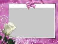 Personalizar tarjetas de cumpleaños   ¡Feliz Cumpleaños ...! - Marco de foto de Cumpleaños