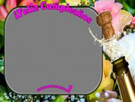 Personalizar tarjetas de cumpleaños | ¡Feliz Cumpleaños ...! - Marco de foto de Cumpleaños