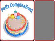 Personalizar tarjetas de cumpleaños   Feliz Cumpleaños! - Marco de foto de Cumpleaños