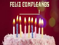 Personalizar tarjetas de cumpleaños | Tarta - Feliz Cumpleaños, ...!