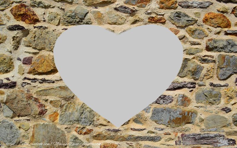 Personalizar tarjetas con fotos | Su foto en el corazón