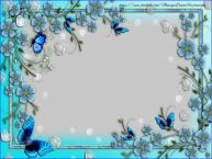 Personalizar tarjetas con fotos | Marco para fotos con flores