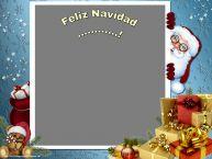 Personalizar tarjetas de Navidad | Feliz Navidad ...! - Marco de foto de Navidad
