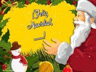 Personalizar tarjetas de Navidad | ¡Feliz Navidad, ...!