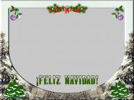 Personalizar tarjetas de Navidad   ¡Feliz Navidad! - Marco de foto de Navidad