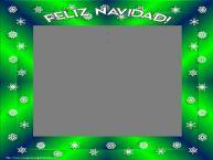 Personalizar tarjetas de Navidad   Feliz Navidad! - Marco de foto de Navidad