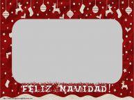 Personalizar tarjetas de Navidad | Feliz Navidad! - Marco de foto de Navidad