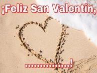 Personalizar tarjetas de San Valentín | ¡Feliz San Valentín, ...!