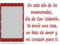 Personalizar tarjetas de San Valentín | Crear felicitaciones de San Valentín con tu facebook foto